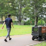 楽天とホンダ、筑波大構内と公道で自動配送ロボットの走行実証実験を開始