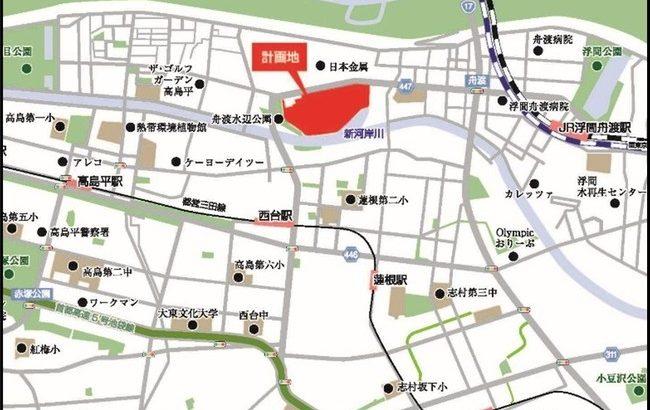 日鉄興和不動産、東京・板橋で20万平方メートル超の大型物流施設を開発へ