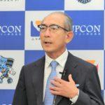 アップコン・松藤社長、ロボット導入など自動化で倉庫の床傾き修正ニーズ拡大と予想