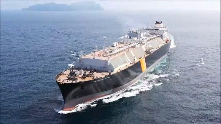 【動画】日本郵船、三菱商事、ALT DUAが共同保有の新造LNG運搬船が竣工