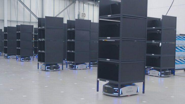 三菱倉庫のEC向け拠点稼働、ロボット活用の物流サービスを従量課金制で提供
