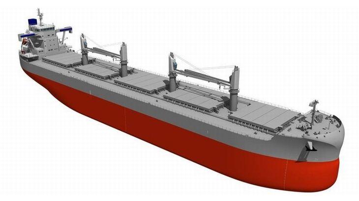 オリックス、温室効果ガス規制「EEDIフェーズ3」先行適用のばら積み貨物船を発注