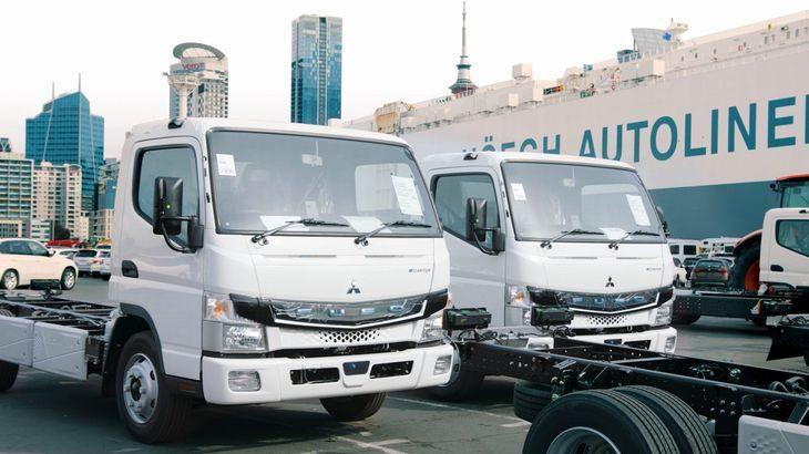 三菱ふそう、電気小型トラック「eCanter」をニュージーランド市場へ投入開始