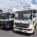 千葉・四街道の日東物流、事業用トラックのデザイン刷新