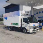 コンビニ大手3社、店舗配送にFC小型トラック活用の実証実験