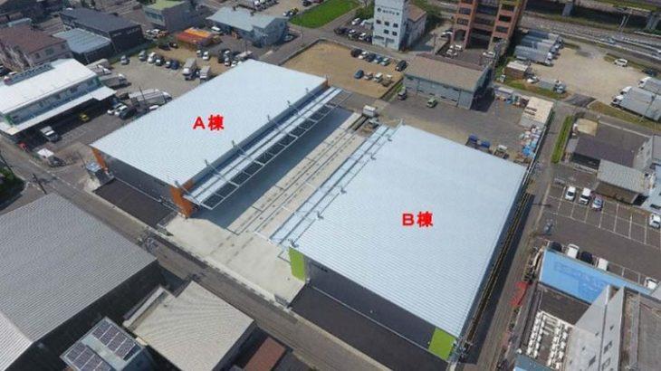 エスライングループ、岐阜・岐南町で倉庫2棟開設