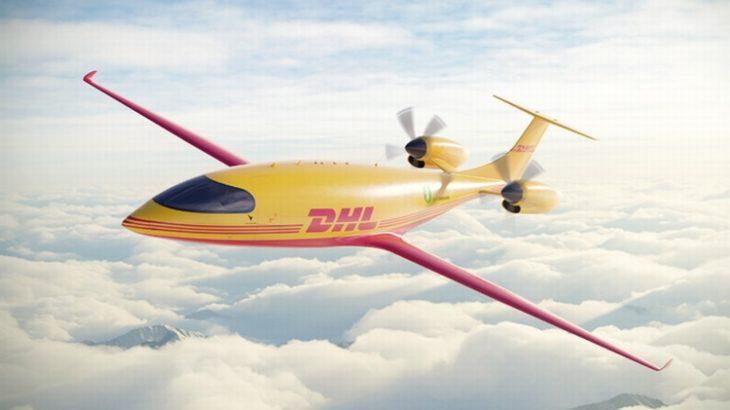 DHLエクスプレス、脱炭素化で完全電動貨物飛行機12機を発注