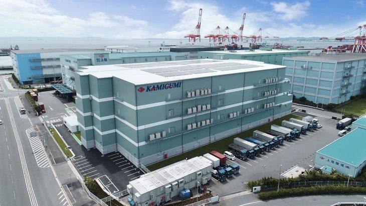 上組、横浜市の南本牧埠頭で2・7万平方メートルの新物流センター完成