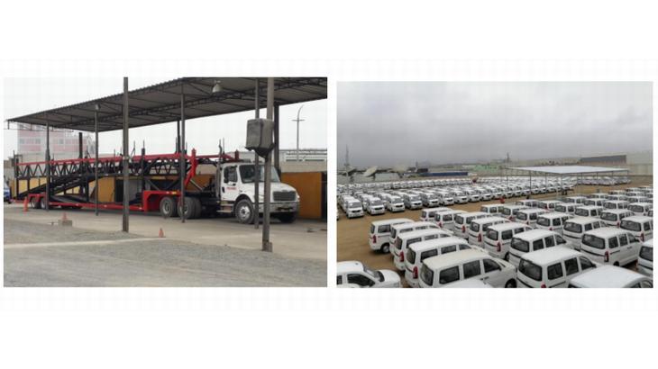 川崎汽船、ペルーで完成車の輸送事業を本格的に開始