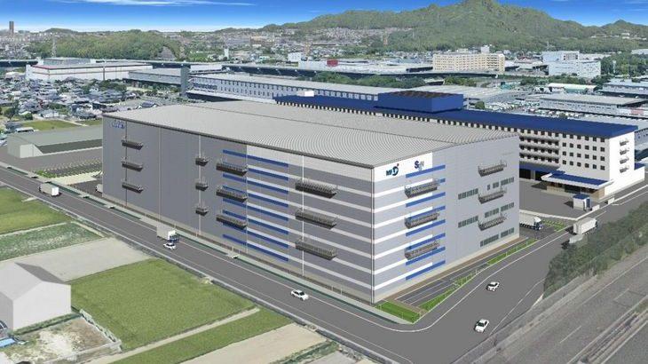 SGリアルティと三井不動産が福岡・粕屋で初の物流施設共同開発へ、日立物流九州が1棟借り