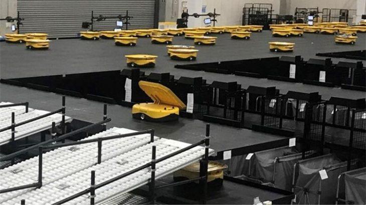 プラスオートメーション、ZOZOの大規模物流拠点にソーティングロボット280台納入