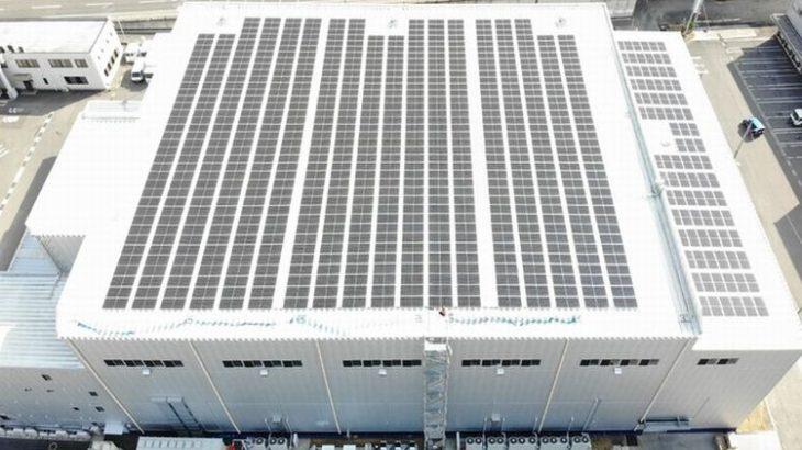 シモハナ物流、グループのセンター4カ所で太陽光発電導入