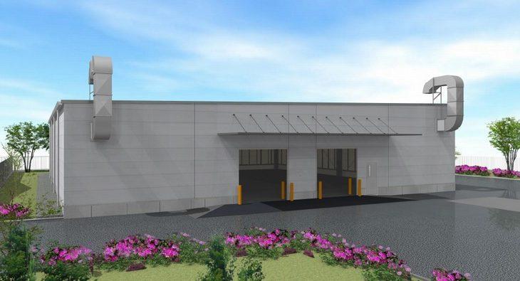 NTTロジスコ、千葉・市川の物流センターで化粧品専用の危険物倉庫設置へ