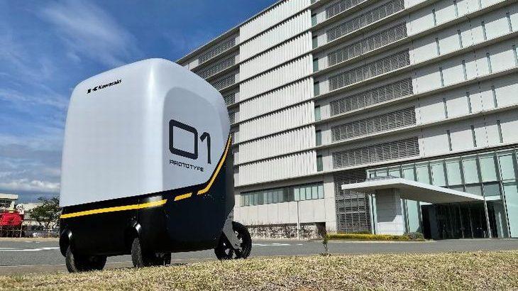 川崎重工とティアフォー、損保ジャパンが自動搬送ロボット開発で連携