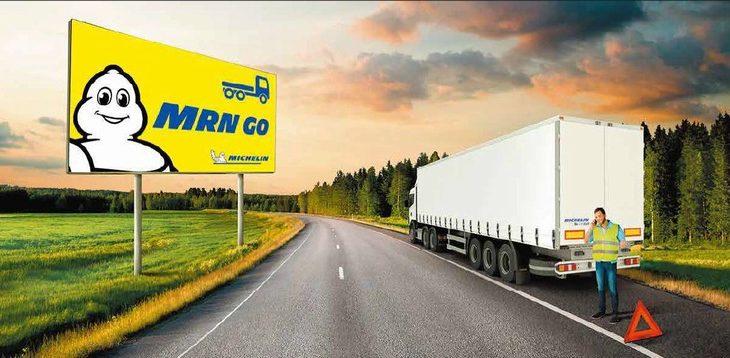ミシュラン、スマホアプリで大型トラックのタイヤトラブルを迅速解決する新サービス提供へ