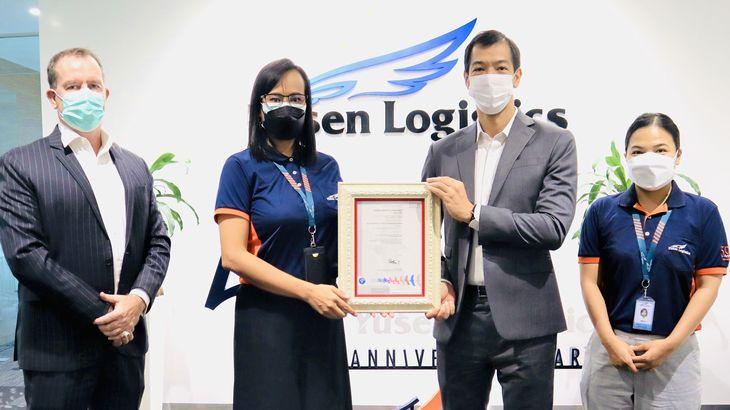 郵船ロジスティクス、タイとインドネシア法人がGDP認証を取得