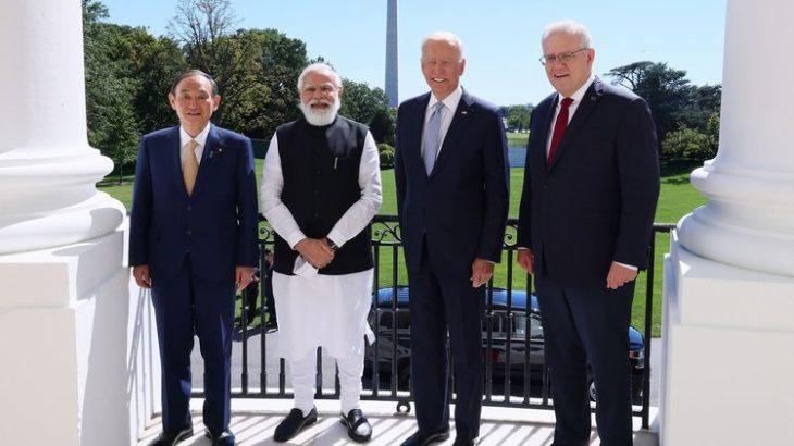 日米豪印4カ国首脳、半導体のサプライチェーン強化などで一致