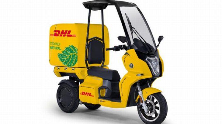 DHLジャパン、都市部の配送にaidea製電動3輪バイク導入
