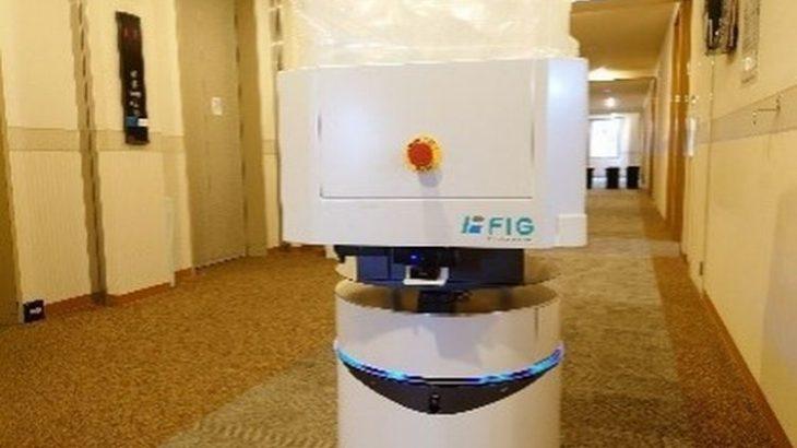 FIGグループと大分県が日本初、宿泊療養施設でロボット使い食事配送やゴミ回収を実施