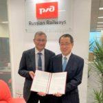 日新、ロシア鉄道ロジスティクスと協力覚書を締結