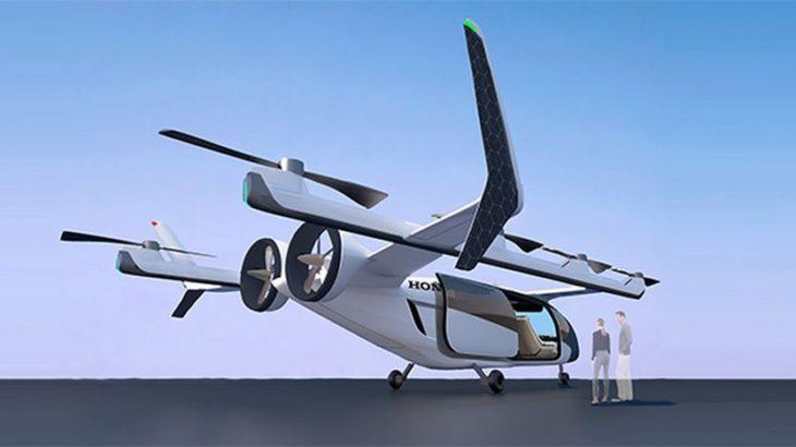 【動画】ホンダが「空飛ぶクルマ」開発に参入へ、30年代の実用化視野