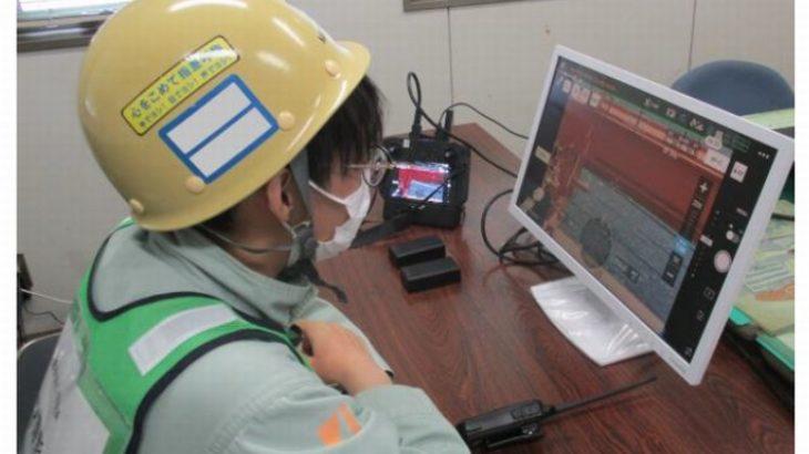 三井E&Sマシナリーとゼンリンデータコム、遠隔自動飛行ドローンで港湾クレーン点検の実証実験
