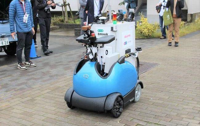 【動画】賃貸住宅の居住者にロボットが購入商品を自動配送