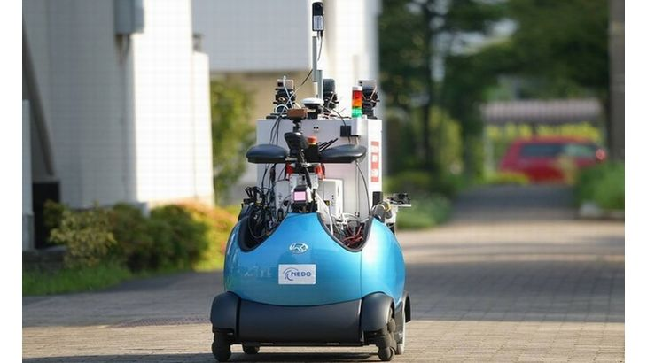 ロボットメーカーのテムザック、ドコモとURが団地で実施する自動配送の実証実験に参加