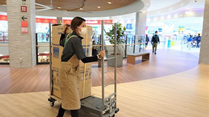 大和物流、愛知の大型商業施設「イーアス春日井」で館内物流サービスの提供開始